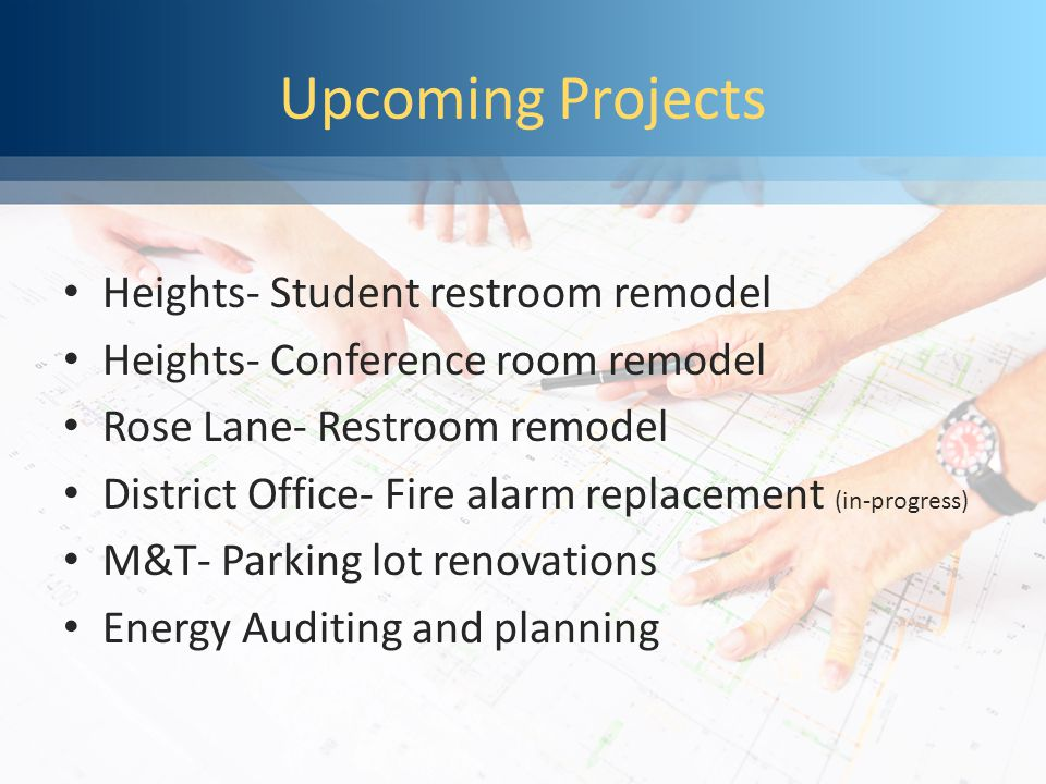 Step 1Step 2 Step 3 Step 4 Phase 2 Solar Projects Meadows & Madison Traditional Academy Application and award of APS rebates..