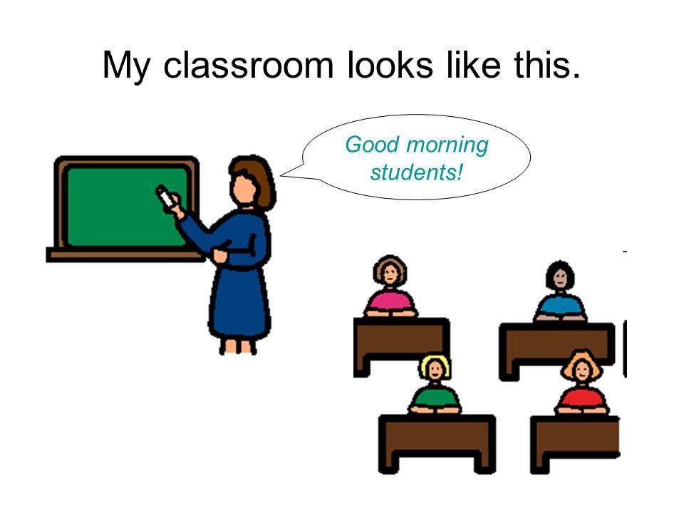 I am a student.