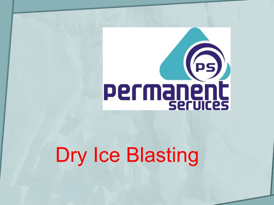 Examples of Dry Ice Blasting Paint Stripping