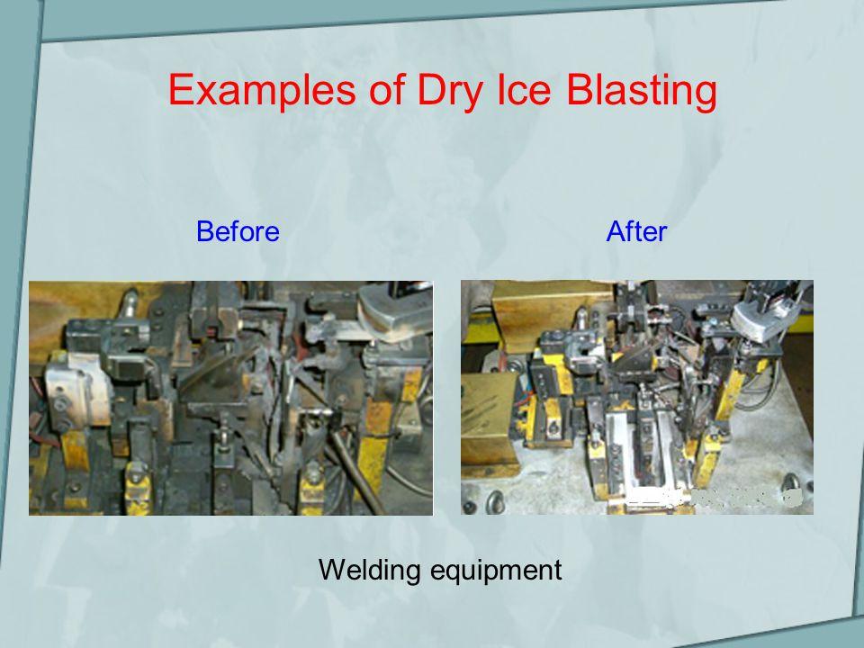 Examples of Dry Ice Blasting Insulators