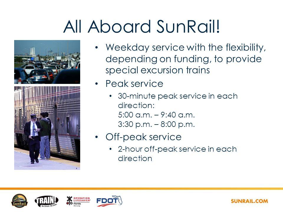 All Aboard SunRail.