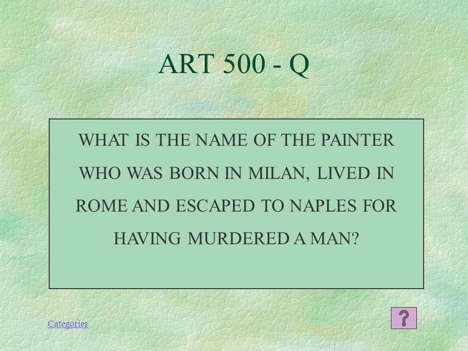 Categories IL CANONE or L'UOMO DI VETRUVIO (THE VETRUVIAN MAN) ART 400 - A
