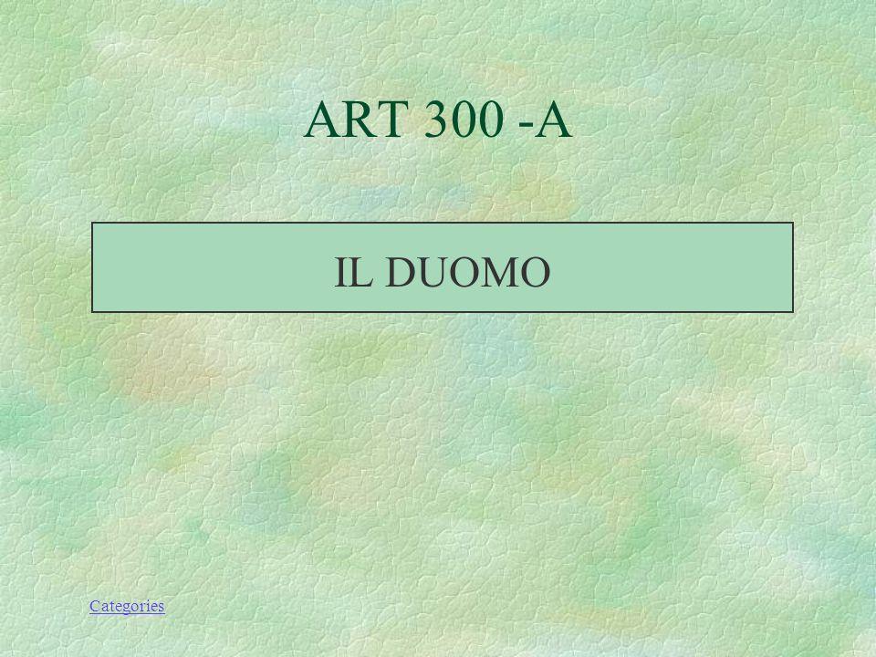 Categories GEOGRAPHY 300 - A LA COSTIERA AMALFITANA