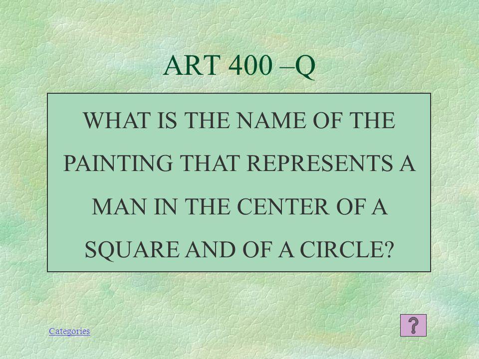 Categories ART 300 -A IL DUOMO