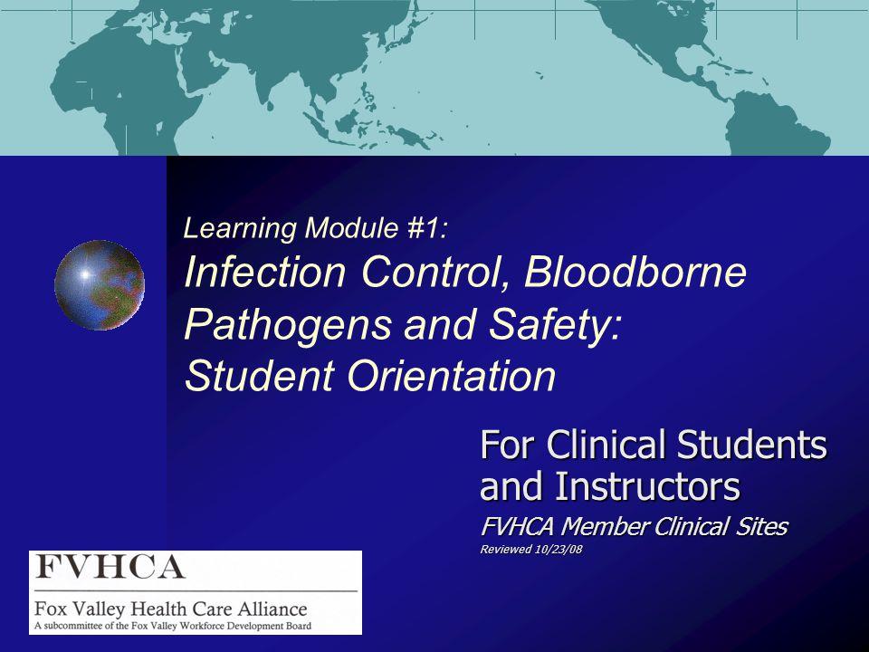 Infection Control, Bloodborne Pathogens, and Isolation Precautions
