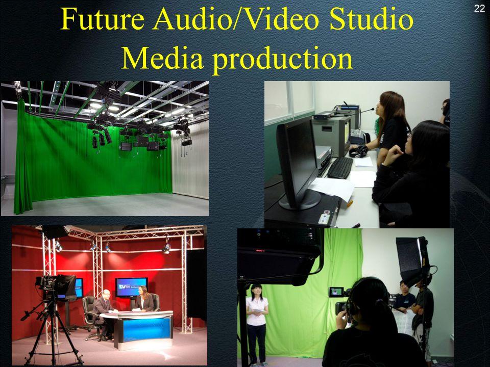Future Audio/Video Studio Media production 22