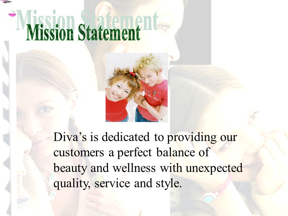 Diva's is dedicated to providing our customers a perfect balance of beauty and wellness with unexpected quality, service and style.