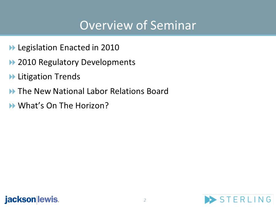 23 Litigation Trends (Con't.)  Velez v.Novartis Corp.