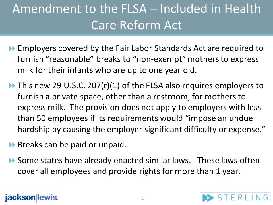 10 2010 Enacted State Legislation  California  Massachusetts  New York 10