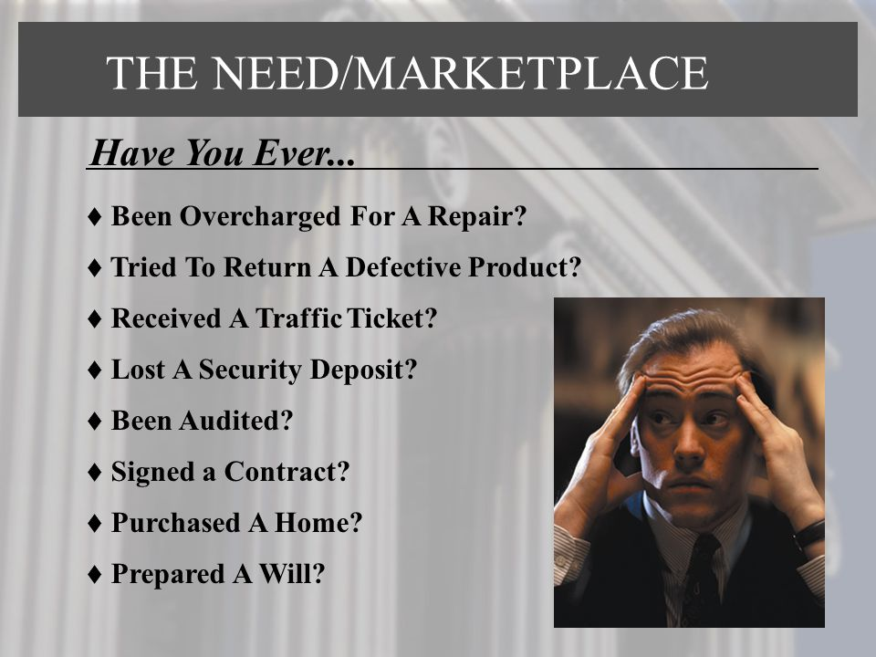  Been Overcharged For A Repair?  Tried To Return A Defective Product?  Received A Traffic Ticket?  Lost A Security Deposit?  Been Audited?  Sign