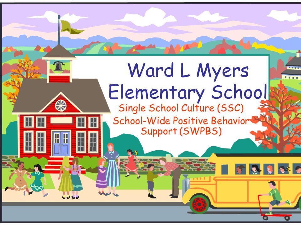 Ward L Myers Elementary School Single School Culture (SSC) School-Wide Positive Behavior Support (SWPBS)