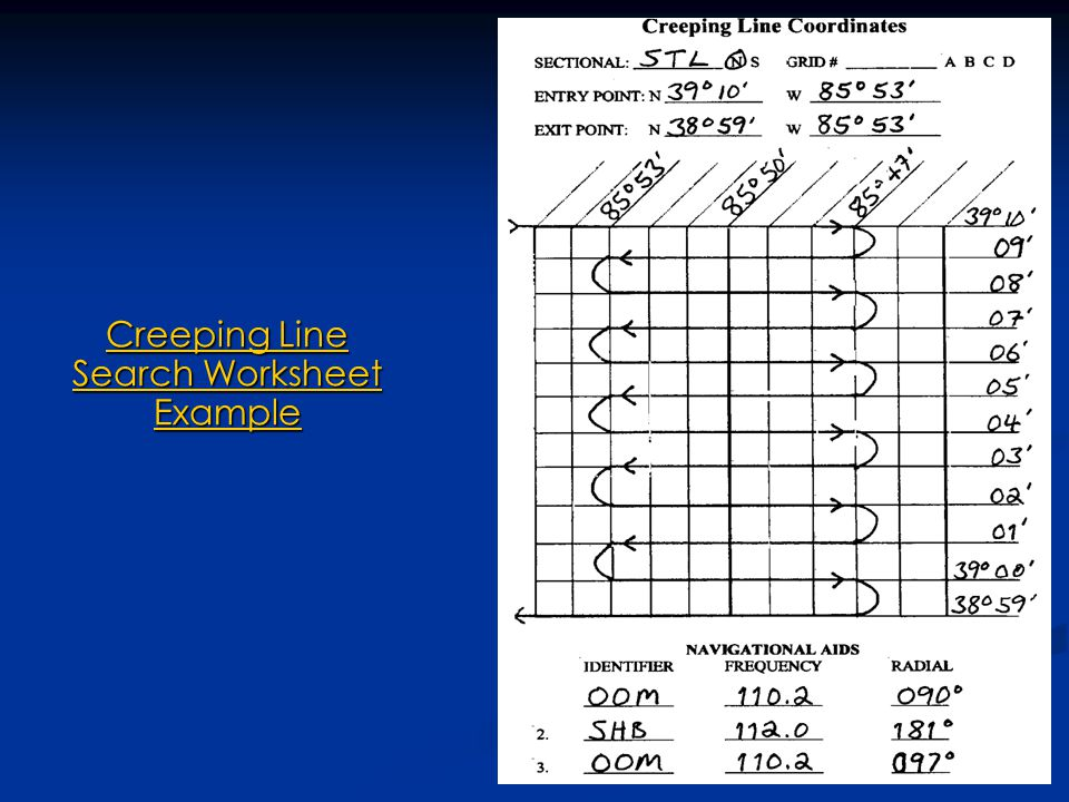 238 Creeping Line Search Worksheet Example