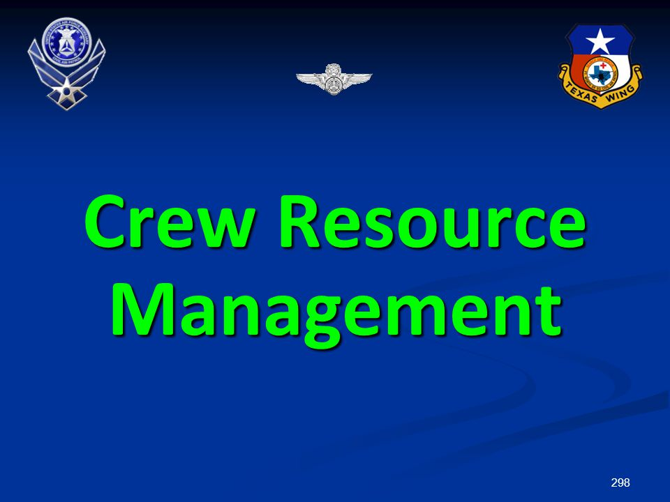 298 Crew Resource Management