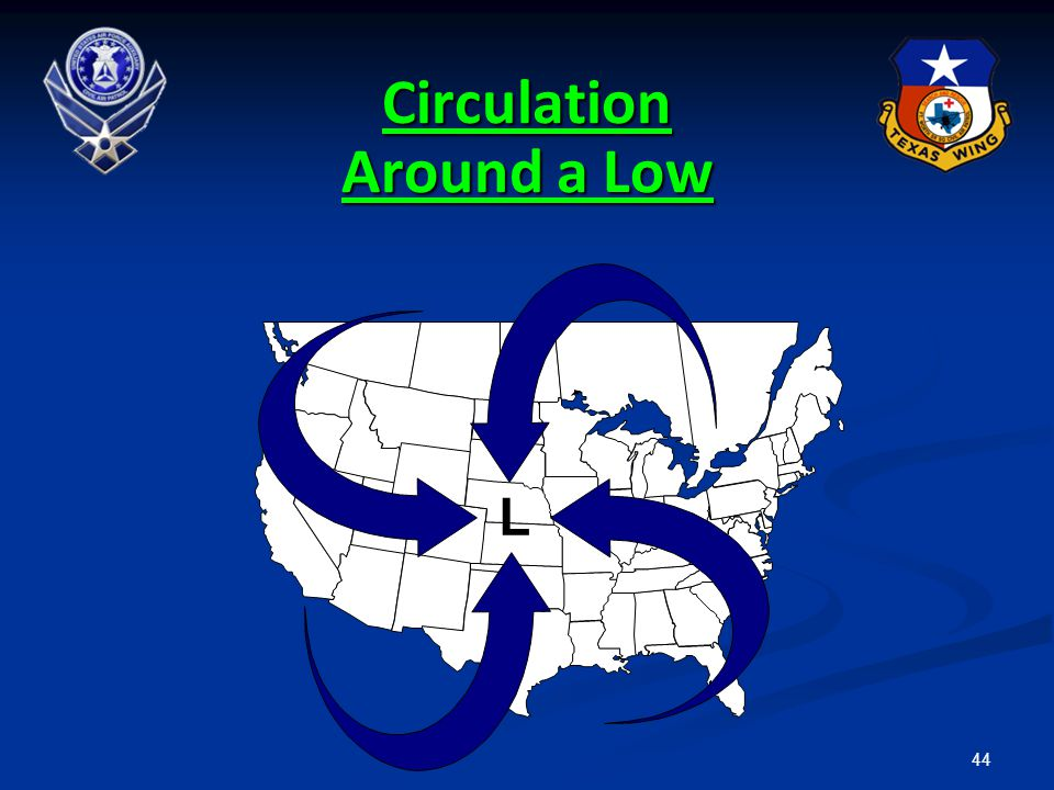 44 Circulation Around a Low L