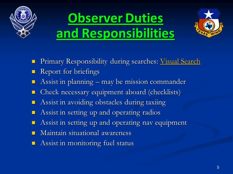 316 Assignment of Duties CAPR 60-3 CAPR 60-3 Flight Related -- Aircraft Commander Flight Related -- Aircraft Commander Mission Related -- Incident Commander Mission Related -- Incident Commander