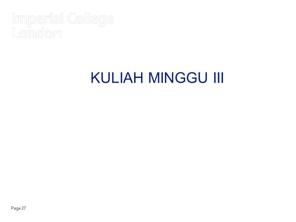 Page 27 KULIAH MINGGU III