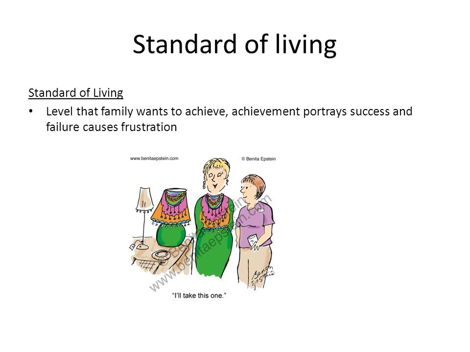 Malaysian Quality of Life Encompassing personal advancements, a healthy life style, access and freedom to pursue knowledge and a standard of living which surpasses the fulfillment of the basic needs of individuals and their psychological needs, to achieve a level of social well being compatible with nation's aspiration Malaysian Quality of Life 1999.