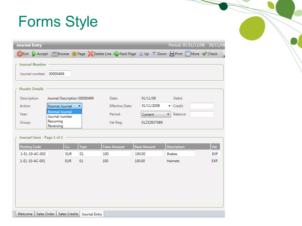 Forms Style