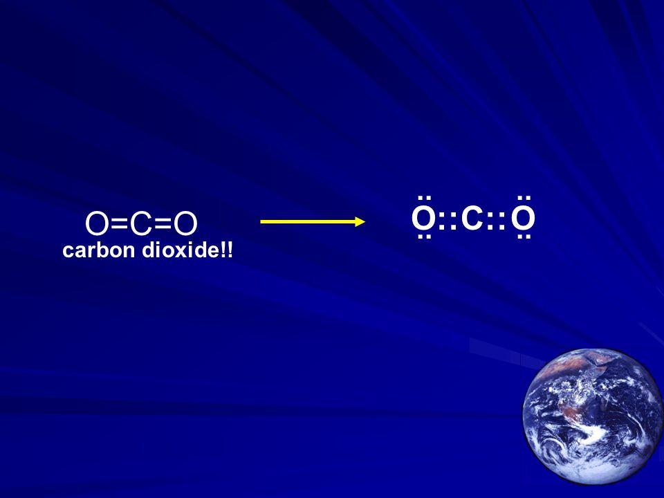 O=C=O O::OC::.. carbon dioxide!!