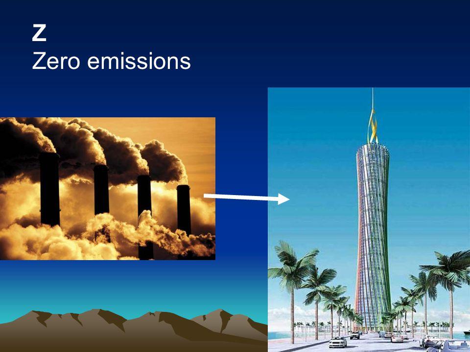 Z Zero emissions