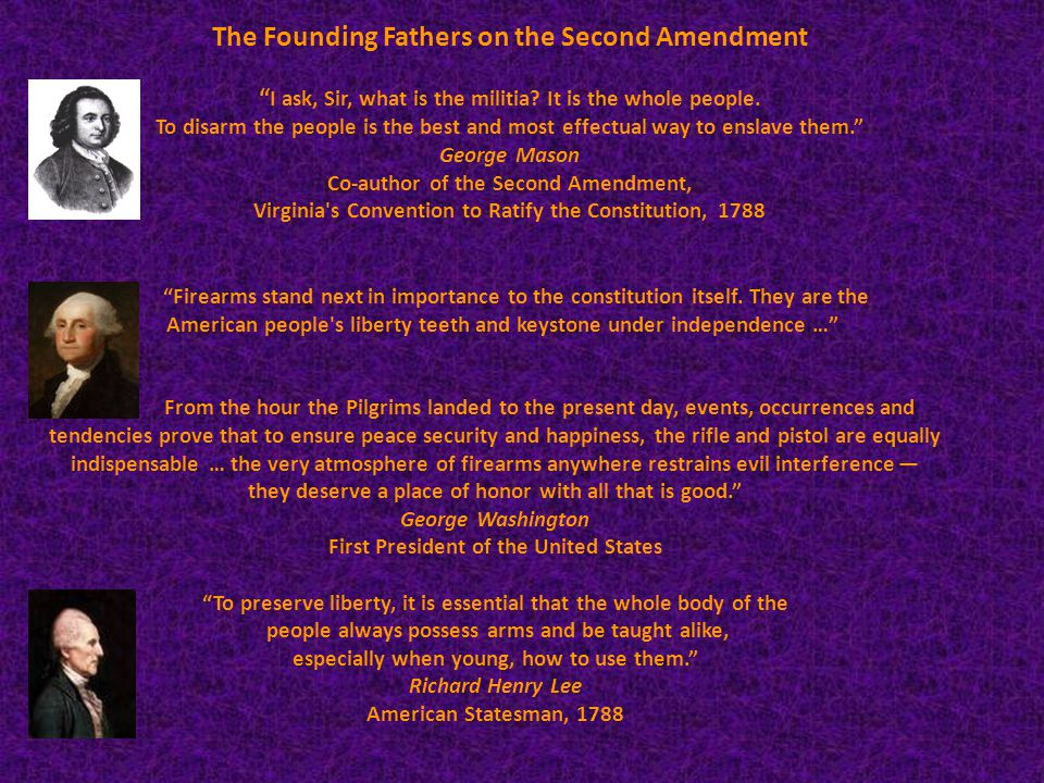 The United States Constitution The Second Amendment is in place in case the politicians ignore the others.