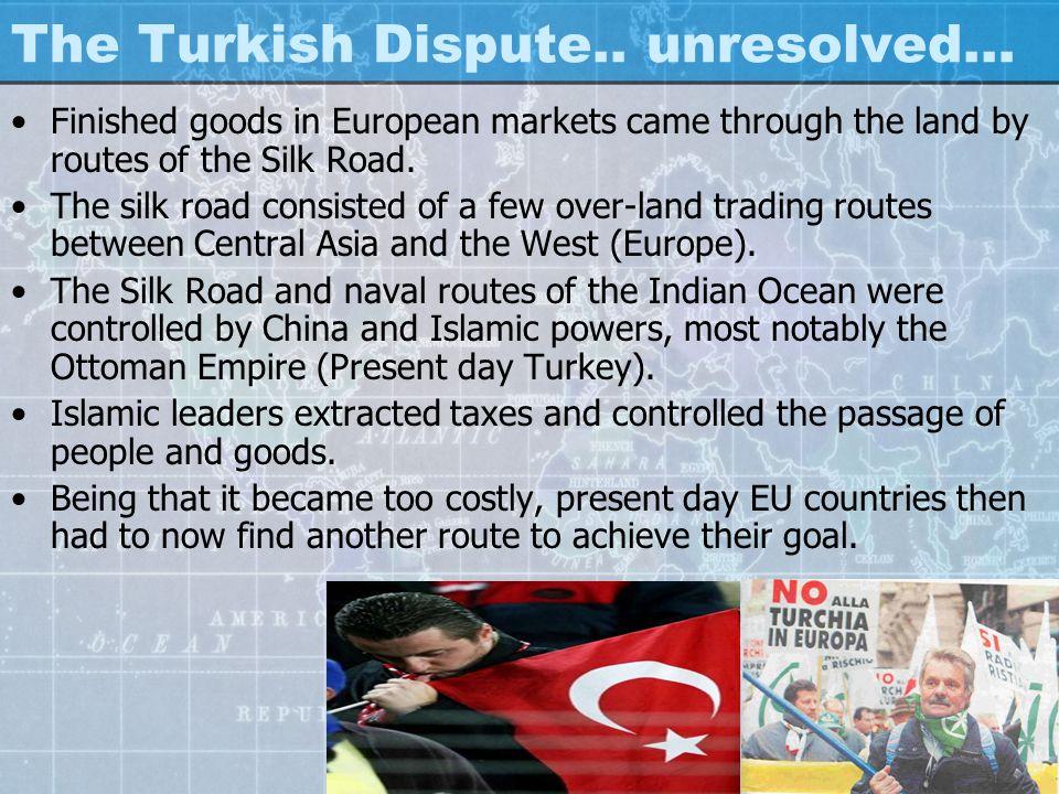 The Turkish Dispute..