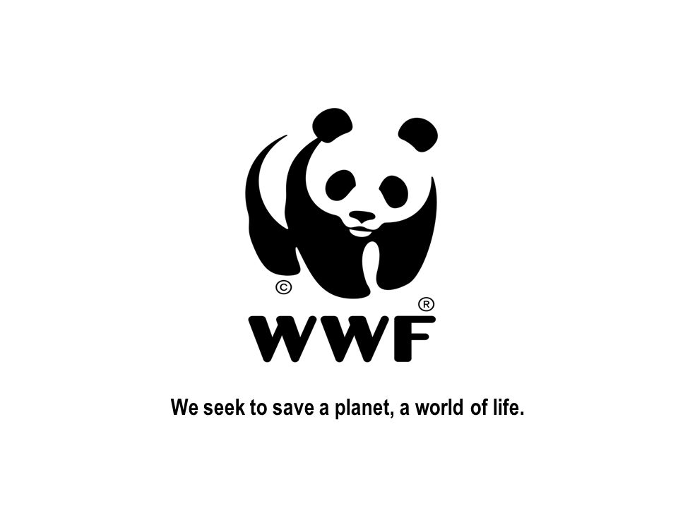 We seek to save a planet, a world of life.