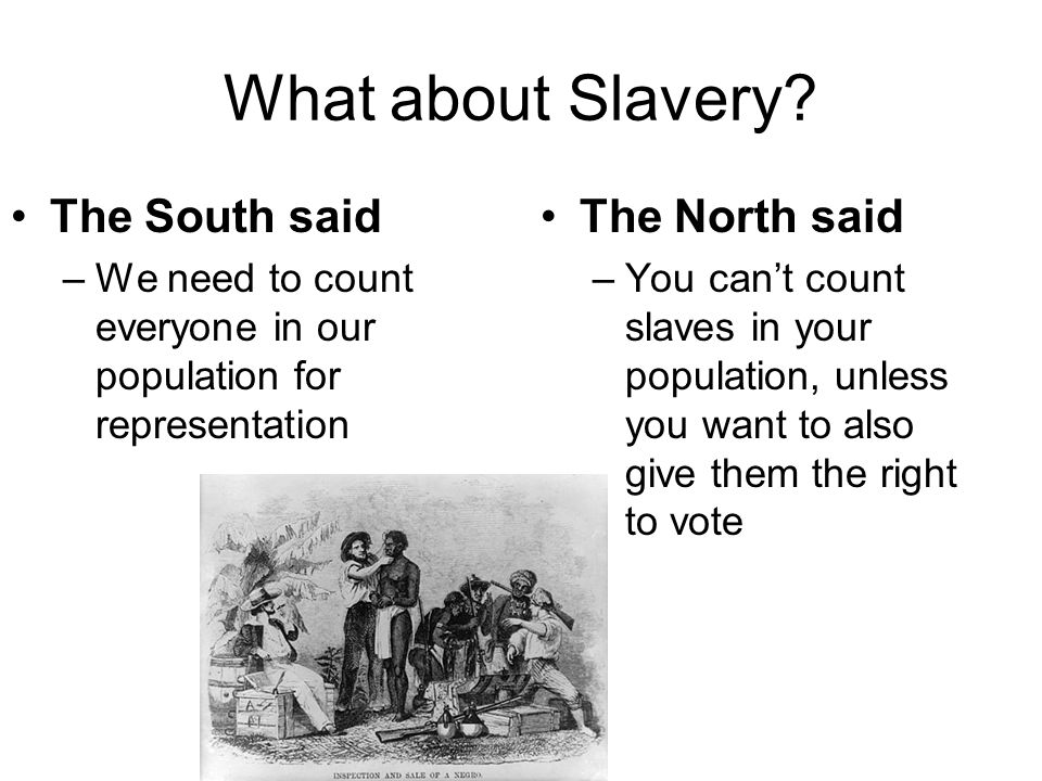 What about Slavery.