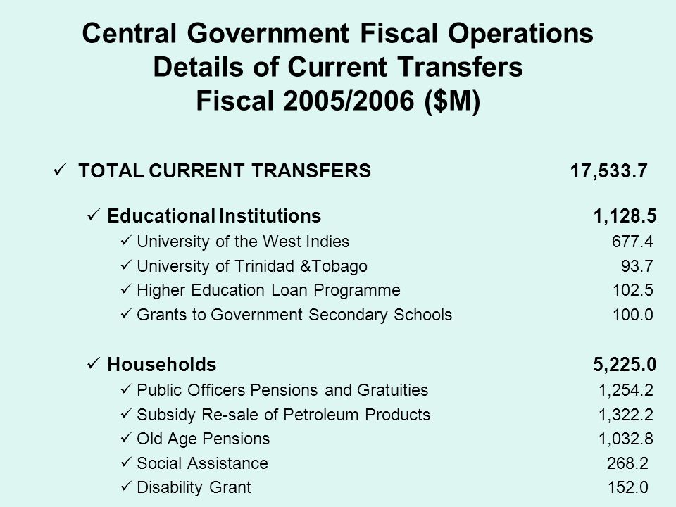 G overnment Assistance for Tuition Expenses (GATE) Programme GATE has made tertiary education more affordable to all citizens of Trinidad and Tobago In fiscal 2005 approximately 24,117 persons applied for financial support through GATE to the value of $126.2 million.