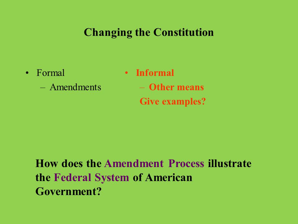 How many ways are there to propose an amendment.How many ways are there to ratify an amendment.