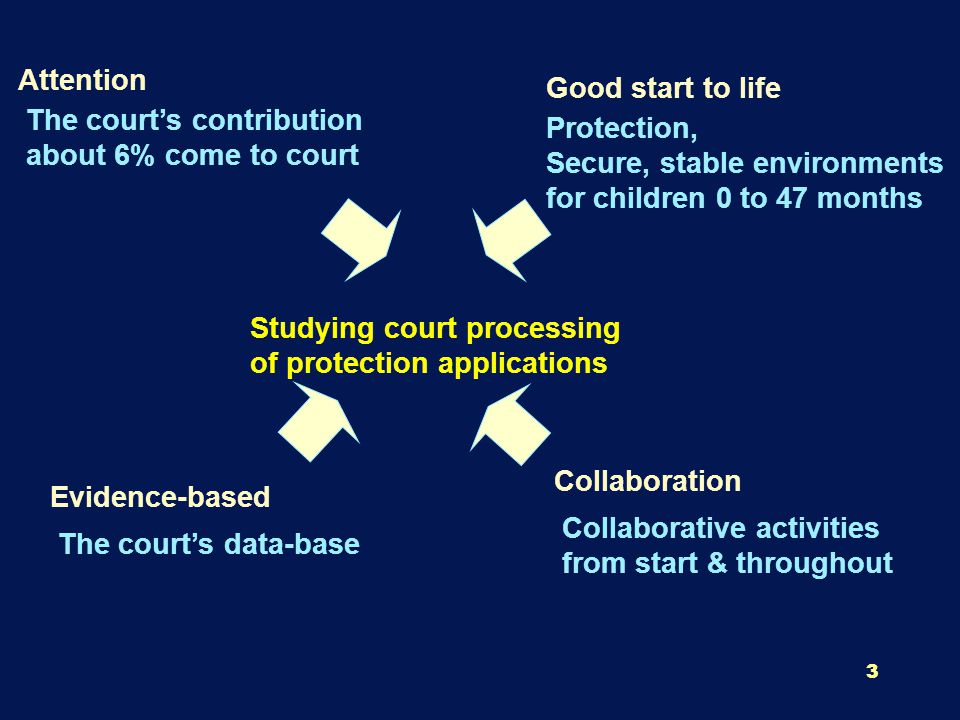 14 Subsample of 80 Protection Cases Stratified RS (+ SD from Mean of Order) on length of time to exit the court system Is the protection application proved substantiated.