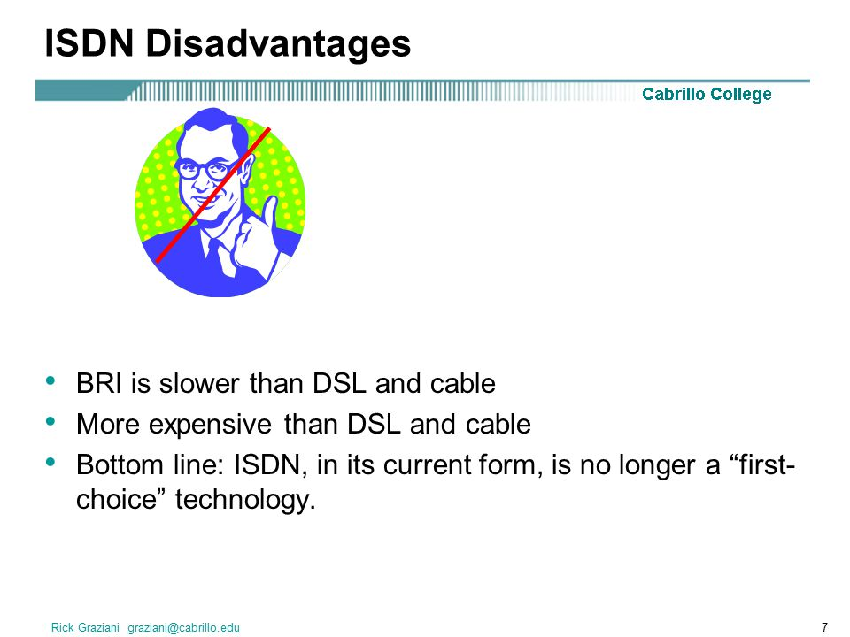 Rick Graziani graziani@cabrillo.edu8 Why 64Kbps channels and what is PCM.