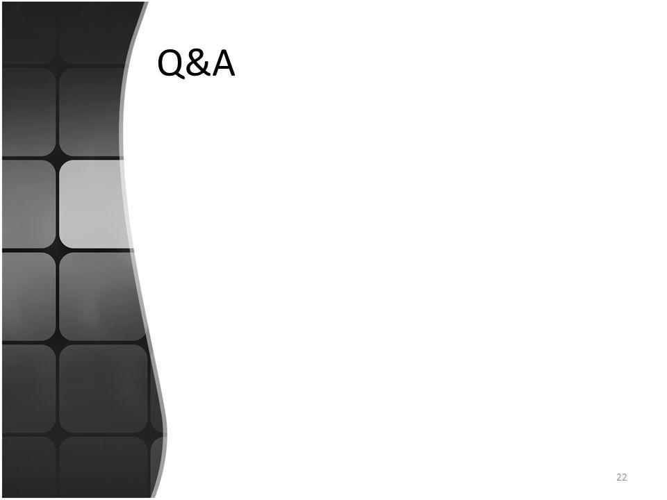 Q&A 22