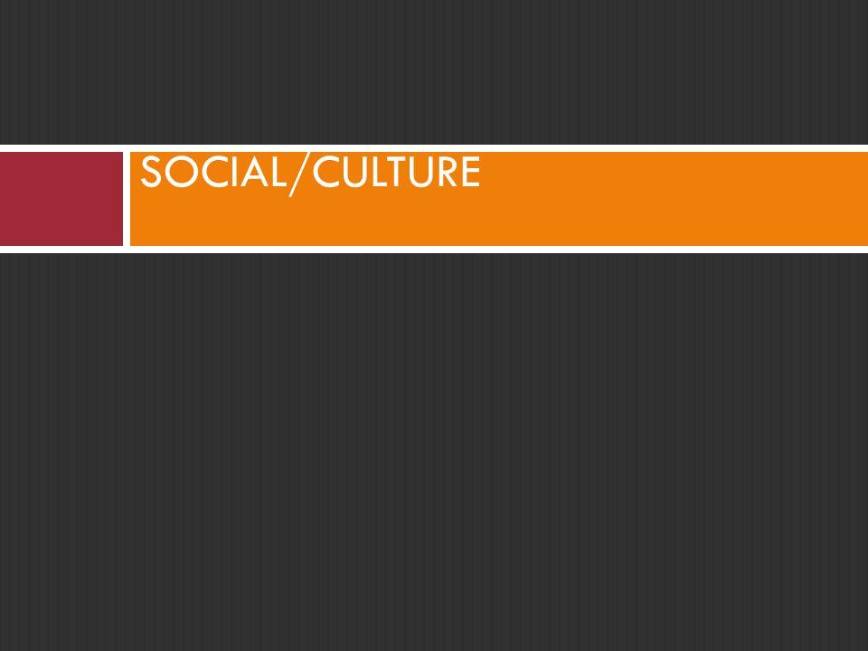 SOCIAL/CULTURE