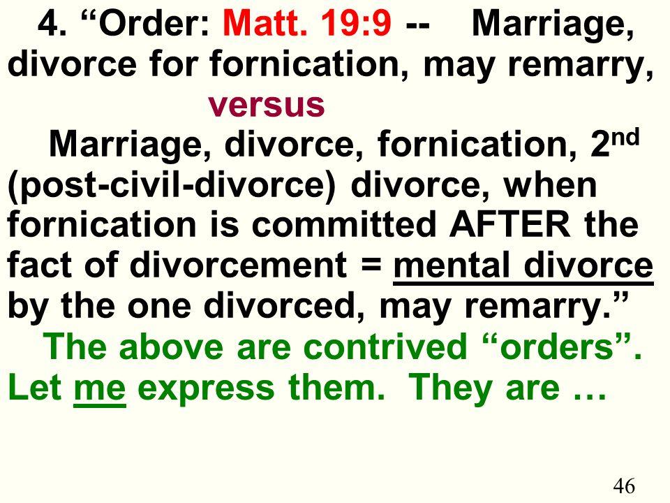 46 4. Order: Matt.