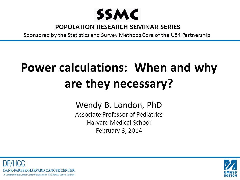 Literacy study power calculations Example: Ho: d=0 vs.