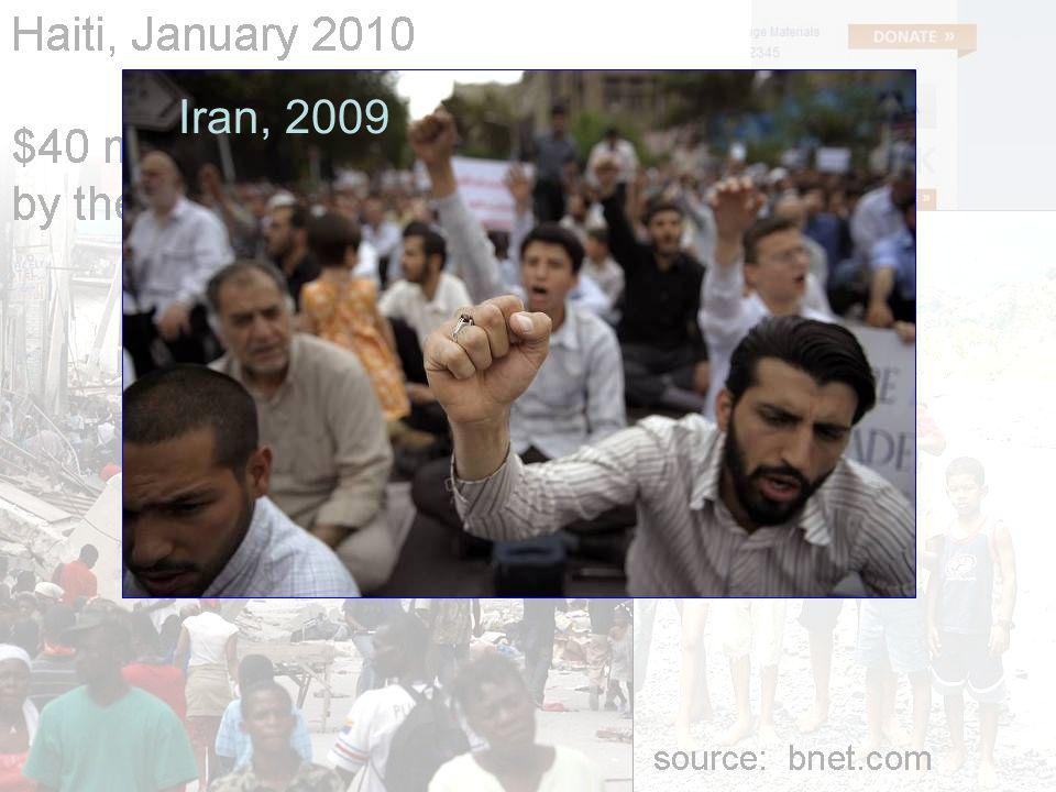 Iran, 2009
