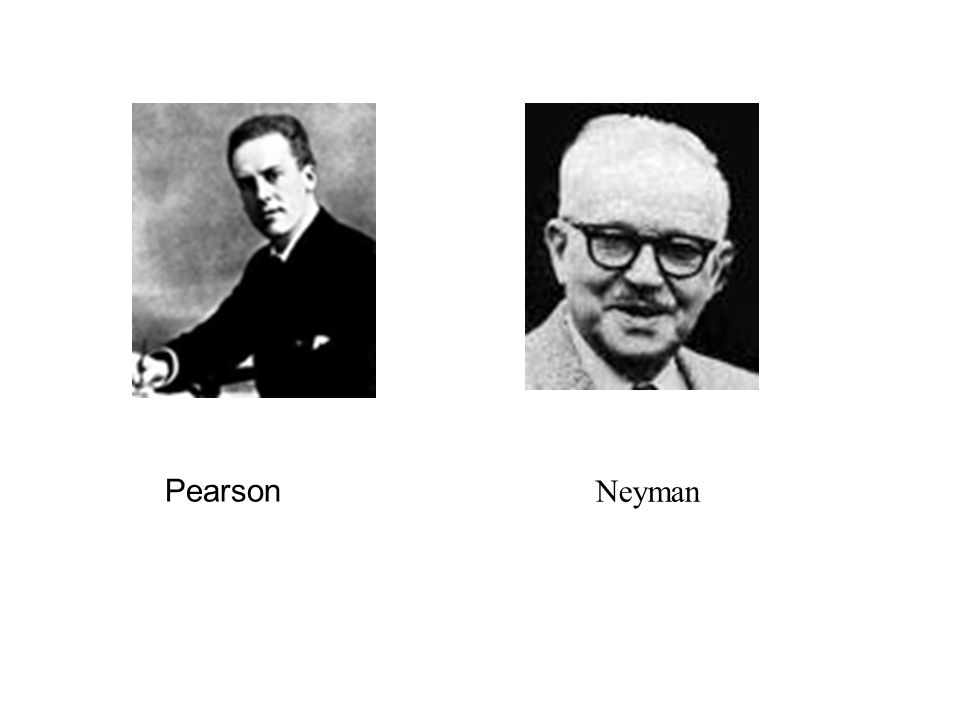 Pearson Neyman