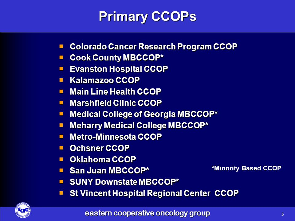 eastern cooperative oncology group E5202 Trial Schema Low-Risk Patients MSS or MSI-L with retention of 18q alleles MSI-H Arm A: mFOLFOX6 q2w × 12 Arm B: mFOLFOX6 + bevacizumab* q2w × 12 Arm C: Observation only High-Risk Patients MSS/18q LOH or MSI-L/18q LOH are RANDOMIZED MSI-L = low-level microsatellite instability MSI-H = high-level microsatellite instability *bevacizumab continued for an additional 6 months Stratify: Disease stage (IIA or IIB) Microsatellite stability (stable vs MSI) 18q LOH 16