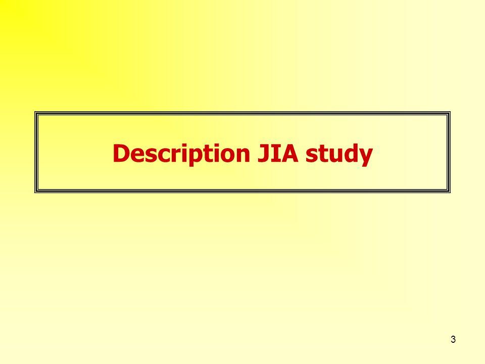 3 Description JIA study