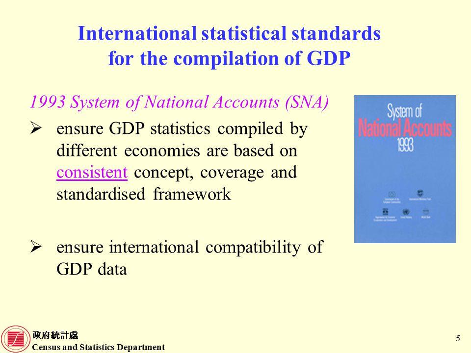 政府統計處 Census and Statistics Department 26 Data sources for compilation of GDP(E) (Cont'd) ComponentData sources 2.