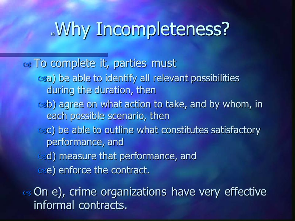19 Why Incompleteness.