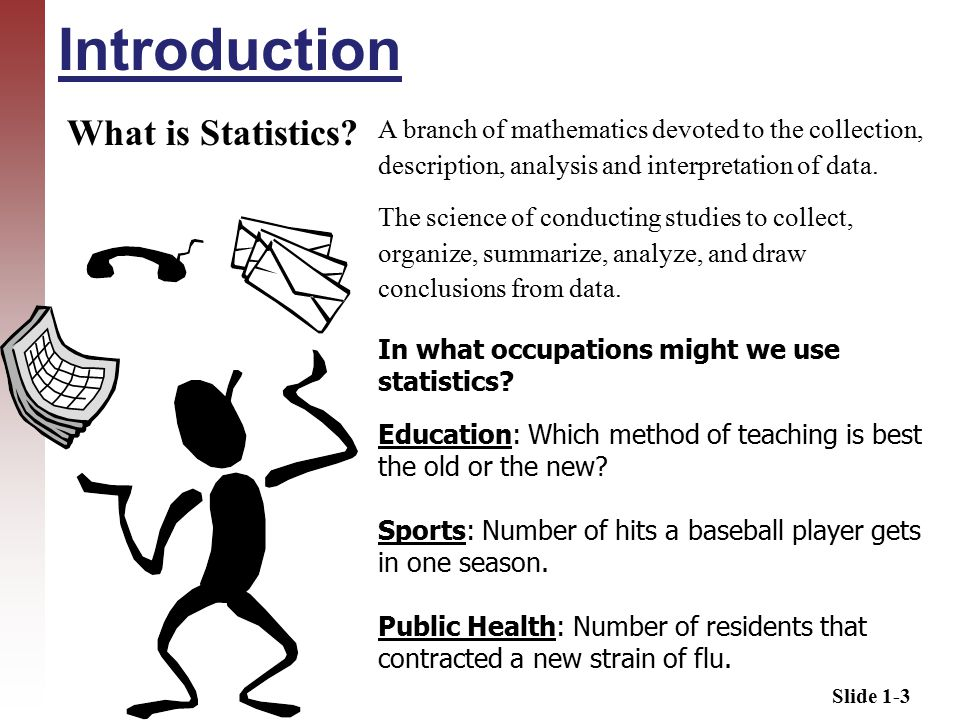 Slide 1-3 Introduction What is Statistics.