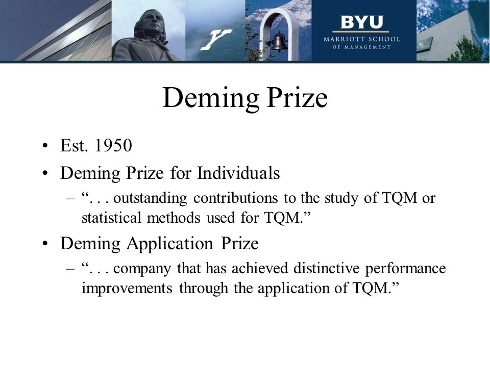 Deming Prize Est. 1950 Deming Prize for Individuals – ...
