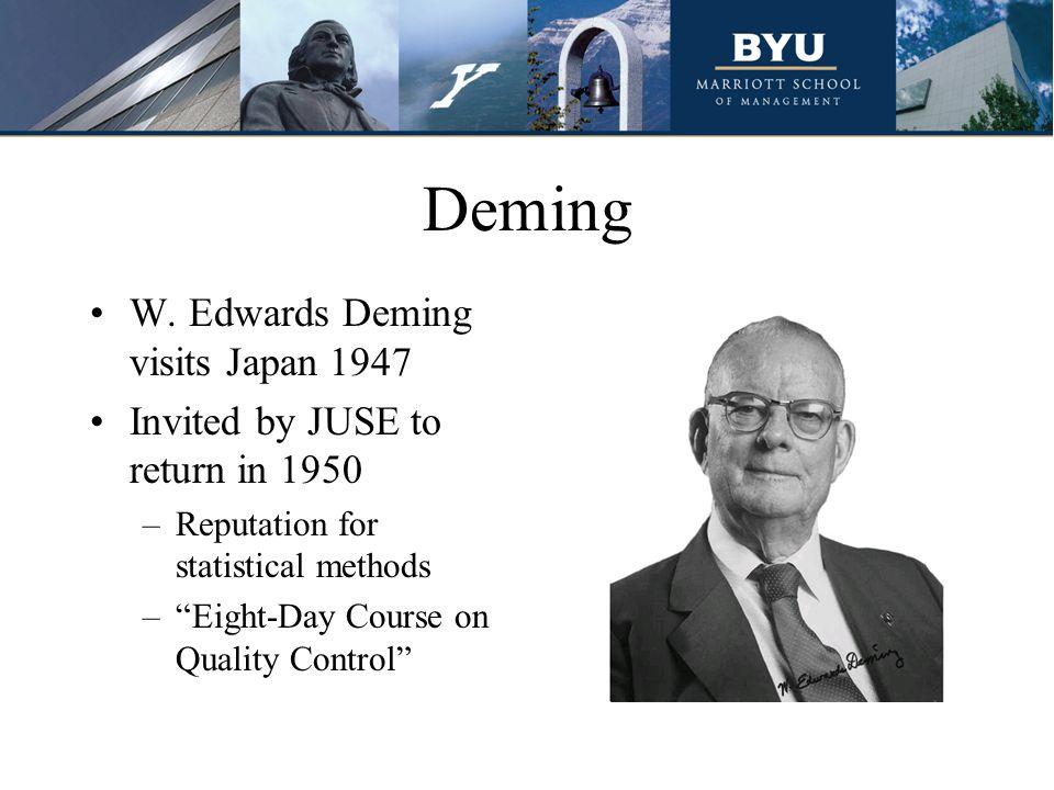 Deming W.
