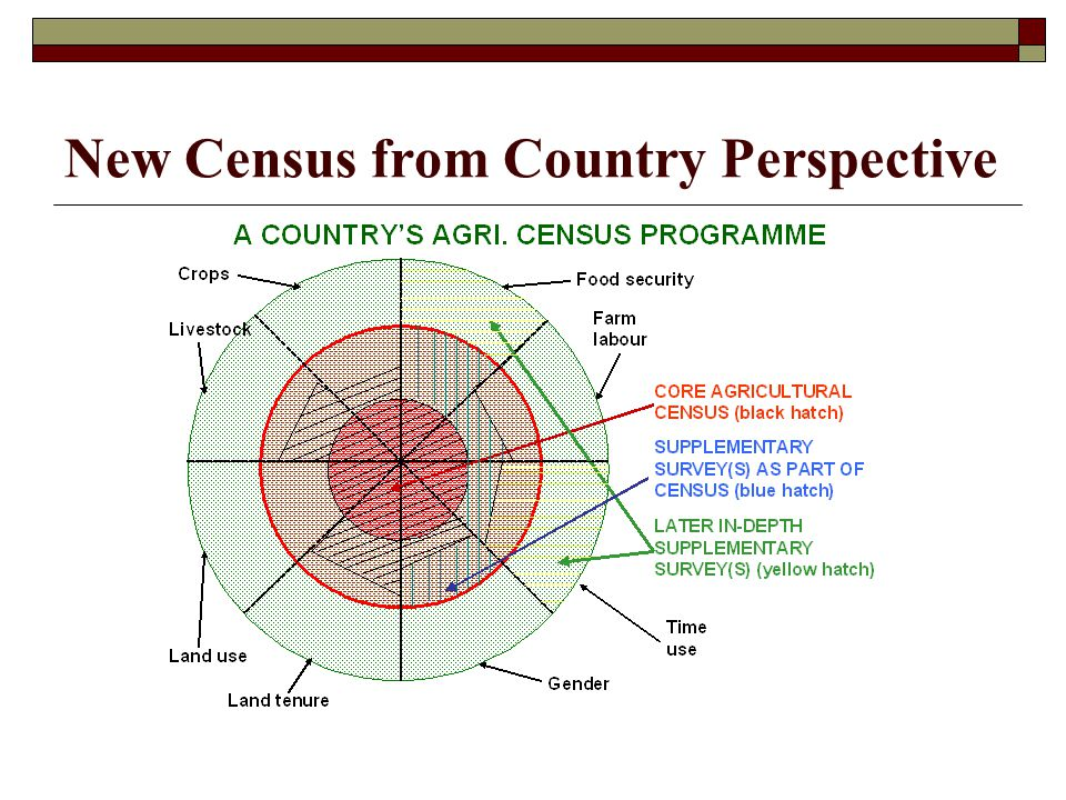 New Census from Country Perspective