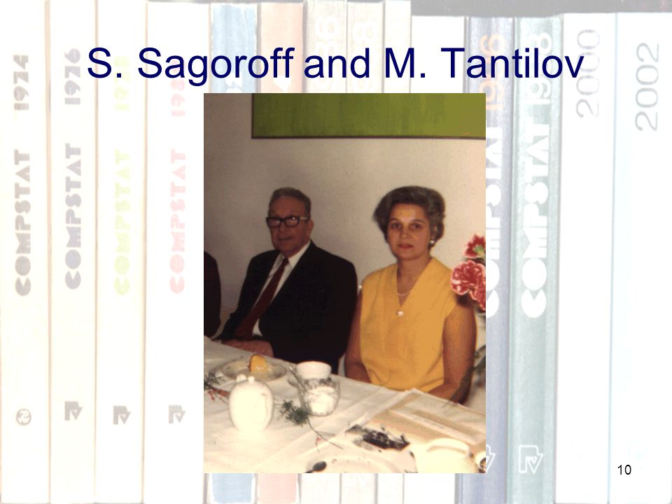 10 S. Sagoroff and M. Tantilov