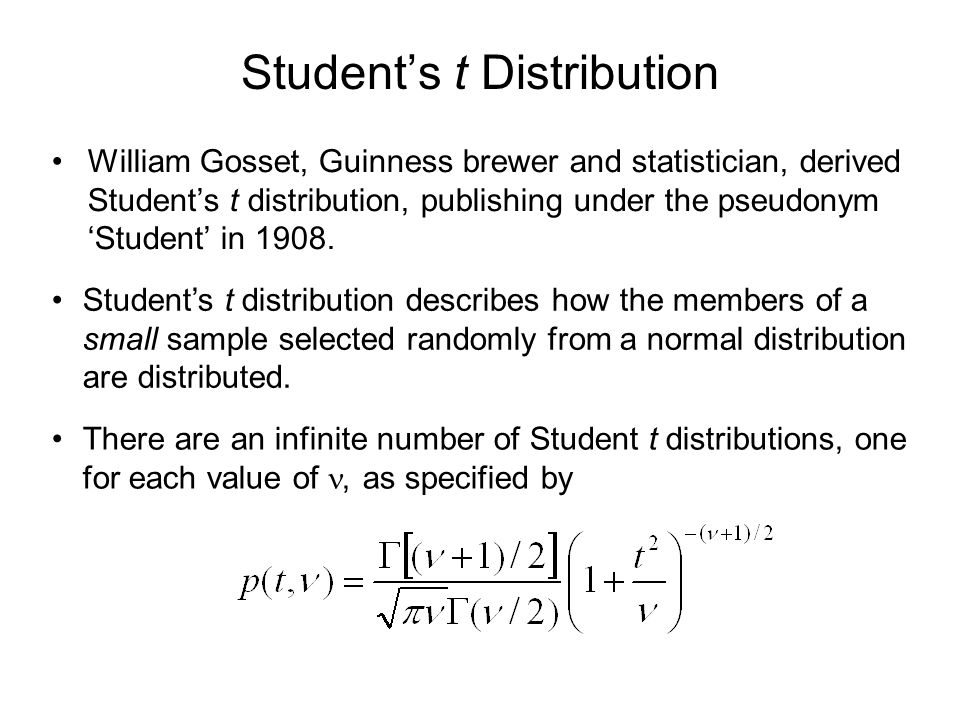 Student's t and Normal Distributions Figure 8.6