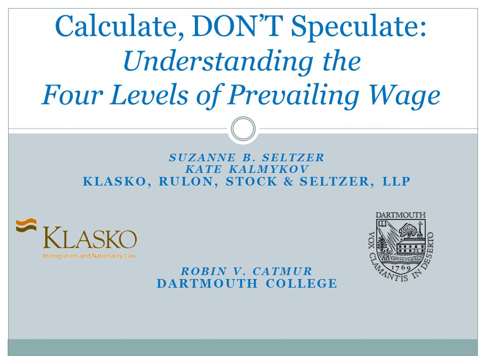 Online Wage Library- Option 3 What do you do when no level is set?