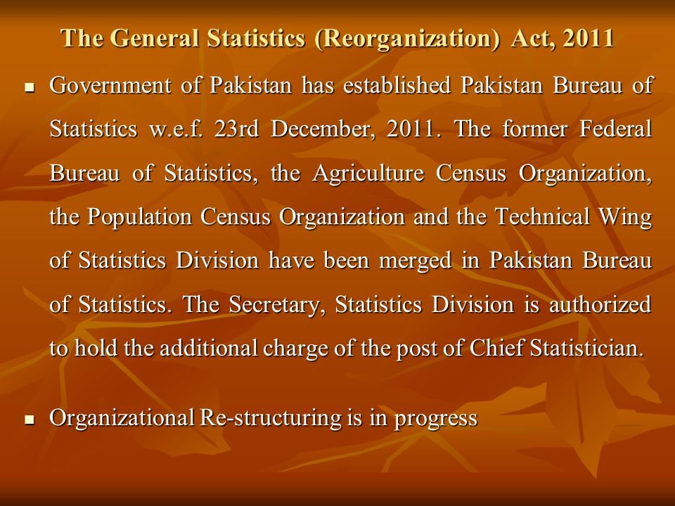 Implementation Status of the Decisions / Recommendations of the Report of the 4 th Meeting of the ECO High Level Expert Group on Statistics 7-8 April,2011, Islamabad Pakistan dia 30 S.No.Decisions / RecommendationsImplementation Status 3The Secretariat requested the Member States to explore ECOSTAT and provide their views and suggestions on the development of the network as stated in the official correspondence to the Member States.